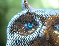Bubo - mechanical owl