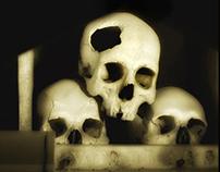 """Memento mori"" (Skulls) - Augusto De Luca photographer"