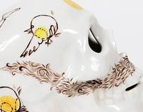 Glug Brighton - Skull painting!