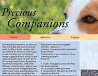 Precious Companions website redesign