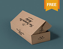 3 Free Packaging Box Mockups