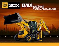 JCB - Backhoe 3CX Reveal in Brazil