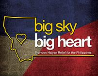 Big Sky Big Heart | Typhoon Haiyan Relief Drive