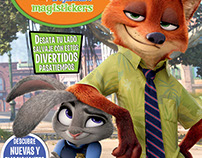 Magisticker Zootopia con Licencias Disney