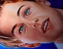 Leonardo DiCaprio - Oil paint