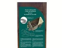 Reconstruction Drawings and Ext. Interpretation Panels