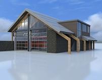 Verbouw brandweerpost Schalkwijk