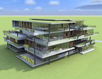 Nieuwbouw appartementengebouw Houten