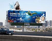 OdySea Aquarium Billboard