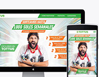 Website Gana con Tottus