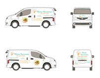 Van Wrap Design for Los Angeles Eatery