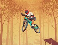 Mountain Creek Mtb poster