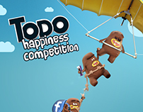 Todo Happiness Competition App ( Imaginary Campaign)