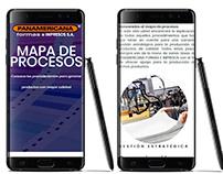 PANAMERICANA FORMAS E IMPRESOS - MiniSite Corporativo