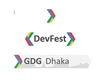 Logo Design Concept for GDG Dhaka with DevFest