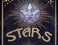 "Poster Design - ""Celestials—Sun, Moon, Stars"""
