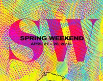 Spring Weekend 2018 Branding