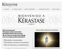 Mailing para usuarios de Kérastase