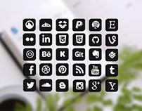 Free Vector Icon Social Media