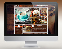 Layout Website Estante Cafe