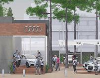 Stand / Exhibición - Audi Carilo 2019