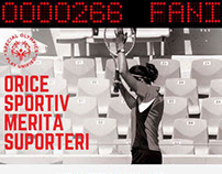 Special Olympics Romania: Donate a Fan