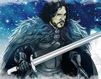 Jon Snow - Caneca