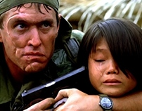 Tom Berenger in the film Platoon (1 and 2)