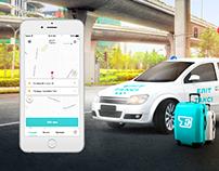 Elit-Taxi App Design Concept