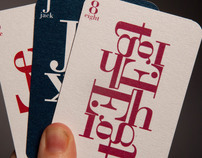 Bodoni Playing Cards