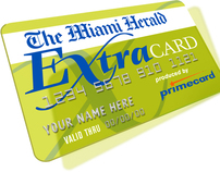 The Miami Herald Extra Card Branding Campaign