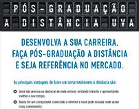 Campanha de Pós-graduação 2013.1 - UVA