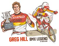 GREG HILL BMX LEGEND by BOUL