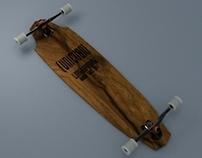 3D Longboard concept.