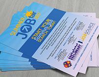 Summer Job Fair Flyer/Poster