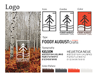 Foggy August Branding