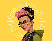 Frida / Digital Painting