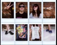 Polaroid 300 Music Collages