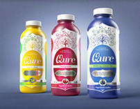 Qure water packaging