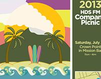 Aloha San Diego Poster (Print)