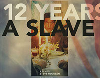 12 Years A Slave - Fake Criterion Movie Poster