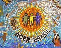 Mosaic Panel for Acer Brasil
