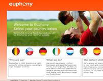 Euphony Communications - new website - 2009