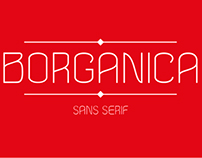 Borganica typeface
