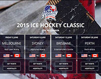 2015 Ice Hockey Website Australia