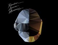 Daft Punk Polygon