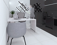 LED shop office-showroom concept design / Saudi Arabia