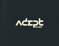 Adept Music Logotype