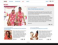 MIMBA Website / Re-Design Proposals