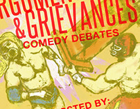 """Arguments and Grievances"" Event Poster"